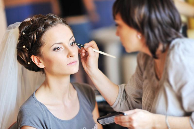 maquillage mariee mariage la baule guerande saint nazaire - Coiffeur Maquilleur Mariage